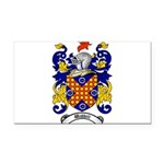 Waddell Coat of Arms Rectangle Car Magnet