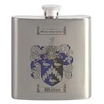 Walton Coat of Arms Flask
