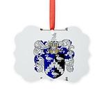 Walton Coat of Arms Picture Ornament