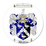 Walton Coat of Arms Round Car Magnet