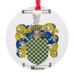 Warren Coat of Arms Round Ornament