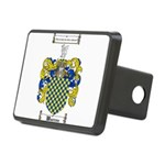 Warren Coat of Arms Rectangular Hitch Cover
