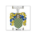 Warren Coat of Arms Square Sticker 3
