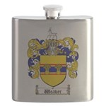 Weaver Coat of Arms Flask