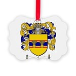 Weaver Coat of Arms Picture Ornament