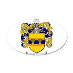 Weaver Coat of Arms Oval Car Magnet