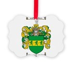 Wheeler Coat of Arms Picture Ornament