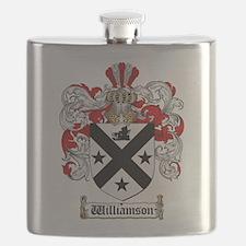 Unique Family crest Flask