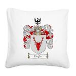 Ziegler Coat of Arms Crest Square Canvas Pillow