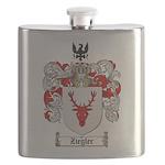 Ziegler Coat of Arms Crest Flask