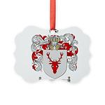 Ziegler Coat of Arms Crest Picture Ornament