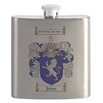 jones coat of arms Flask