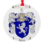 jones coat of arms Round Ornament