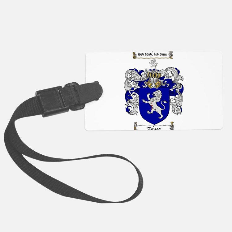 jones coat of arms Luggage Tag