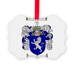jones coat of arms Picture Ornament