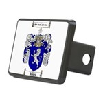 jones coat of arms Rectangular Hitch Cover