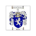 jones coat of arms Square Sticker 3