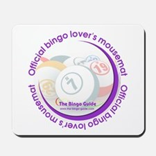 Official Bingo Lover's Mousemat