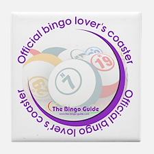Official Bingo Lover's Coaster
