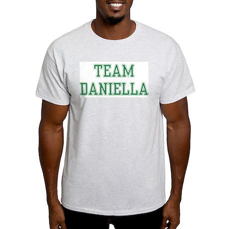 TEAM DANIELLA Ash Grey T-Shirt