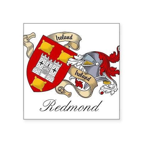 "Redmond.jpg Square Sticker 3"" x 3"""