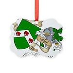O'Kieran Famiy Crest Picture Ornament