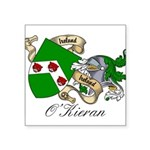 O'Kieran Famiy Crest Square Sticker 3