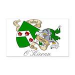 O'Kieran Famiy Crest Rectangle Car Magnet