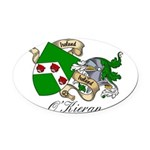 O'Kieran Famiy Crest Oval Car Magnet