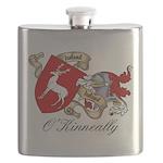 O'Kinneally Coat of Arms Flask