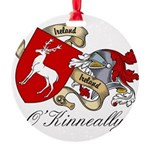 O'Kinneally Coat of Arms Round Ornament