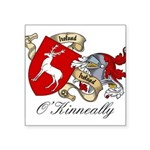 O'Kinneally Coat of Arms Square Sticker 3