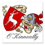 O'Kinneally Coat of Arms Square Car Magnet 3
