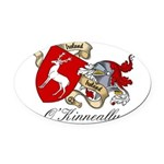 O'Kinneally Coat of Arms Oval Car Magnet
