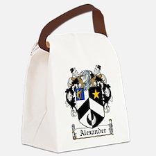 Alexander.jpg Canvas Lunch Bag