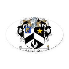 Alexander.jpg Oval Car Magnet