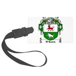 O'Leary Family Crest Large Luggage Tag