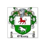 O'Leary Family Crest Square Sticker 3