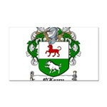 O'Leary Family Crest Rectangle Car Magnet