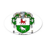 O'Leary Family Crest Oval Car Magnet