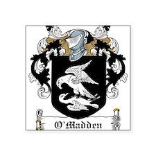 "OMadden (Galway)-Irish-9.jpg Square Sticker 3"" x 3"