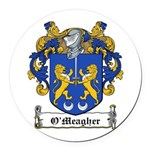 OMeagher (Tipperary)-Irish-9.jpg Round Car Magnet