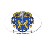 OMeagher (Tipperary)-Irish-9.jpg Oval Car Magnet