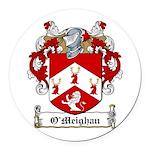 OMeighan-Irish-9.jpg Round Car Magnet