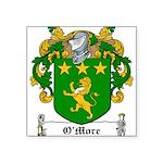 OMore (Moore-Leinster)-Irish-9.jpg Square Sticker
