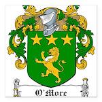 OMore (Moore-Leinster)-Irish-9.jpg Square Car Magn