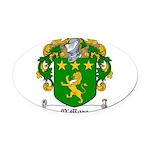 OMore (Moore-Leinster)-Irish-9.jpg Oval Car Magnet