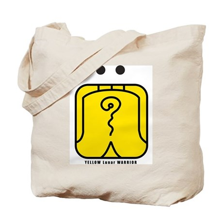 YELLOW Lunar WARRIOR Tote Bag