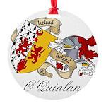OQuinlan.jpg Round Ornament