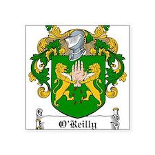 "OReilly (Cavan)-Irish-9.jpg Square Sticker 3"" x 3"""